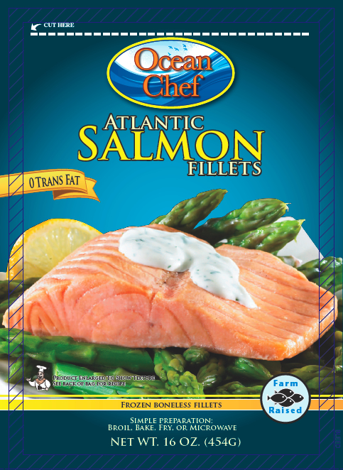 Frozen Salmon