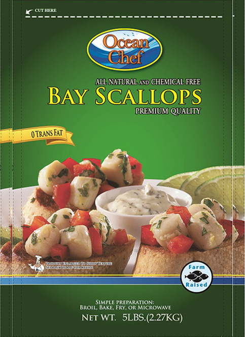 Frozen Bay Scallops
