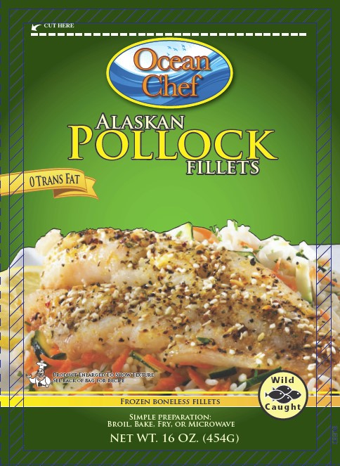 Frozen Pollock Fish