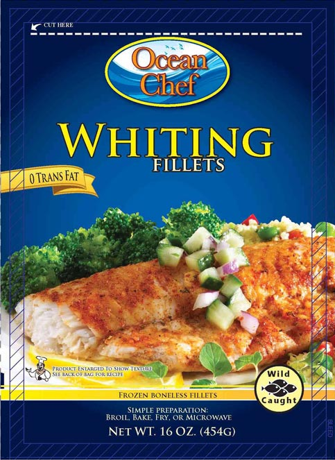 Frozen Whiting Fish